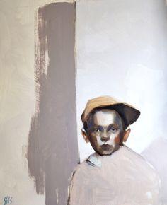 """Finnish Artist Silja Selonen - Oil 2013 Painting """"siirto 3"""""""