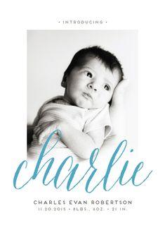 birth announcements - nickname by Lea Delaveris