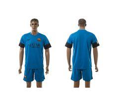 2015-2016 Barcelona Home blue Soccer Jerseys