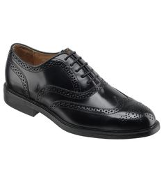 men should wear black polished leather shoes which must be clean and odor free.