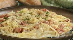Carbonara spagetti, ínycsiklandó tésztás étel, amit bárki el tud készíteni!
