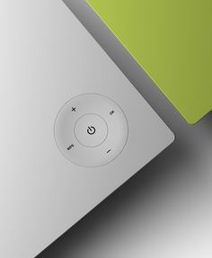 INTUITIVE/FORM: simple interface, focal point, slightly indented interface