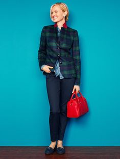 Talbots - Tartan Plaid Jacket | New Arrivals |