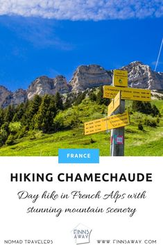 Day hike around Chamechaude, the highest peak of Chartreuse massif in eastern France, near Grenoble. What to expect and how to plan your hike. Travel Around The World, Around The Worlds, French Days, Day Hike, Screen Wallpaper, Alps, Travel Destinations, Trail, Scenery