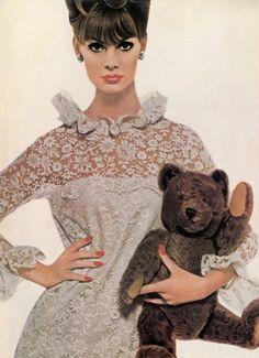 fuckyeah60sfashion:        Jean Shrimpton, 1964.