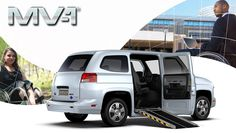 The first Original Equipment Manufacturer (OEM) designed and assembled accessibility vehicle. The MV-1 meets all applicable Federal Motor Vehicle Safety Standards (FMVSS) straight from the factory with no modifications that could jeopardize the vehicle's structure.