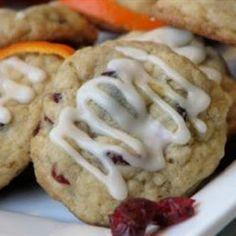 RECIPES BEST!: Cranberry Orange Oatmeal Cookies