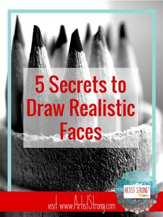 """So many artists and non-artists alike tell me: """"but faces are the hardest to draw!"""" This isn't true, but it will be hard if you don't know the right artist tools to help you capture likeness in any…"""