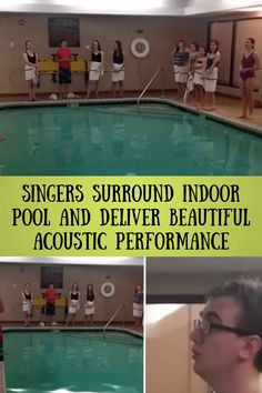 #Singers #indoor #pool #deliver #beautiful #acoustic #performance Stylish Jewelry, Stylish Nails, Trendy Summer Outfits, Winter Outfits, Diy Home Decor Projects, Garden Projects, Eyeliner Styles, Pink Nail Art, Makeup Eye Looks