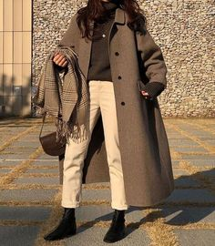 Mode Ulzzang, Korean Fashion Ulzzang, Korean Fashion Winter, Korean Street Fashion, Korean Outfits, Mode Outfits, Fall Outfits, Autumn Fashion, Korean Winter Fashion Outfits
