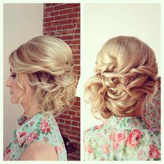 Updo, wedding hair, bride, bridal hair, wedding updo
