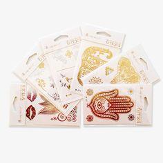Das 6er-Set enthält 31 Sujets in Gold und Silber. 6 verschiedene Blätter im Format 102 x 72 mm.