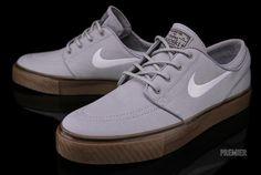 Nike Stefan Janoski: Wolf Grey/Gum