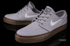 Nike Stefan Janoski – Wolf Grey – Gum Medium Brown