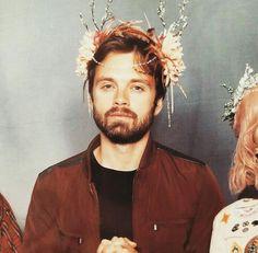 Sebastian Stan the elven prince.