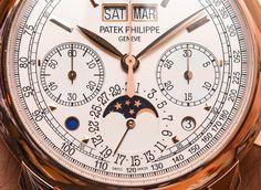 Patek Philippe 5270R-001 Perpetual Calendar Chronograph Watch Hands-On