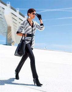 Die flauschige Damen Strickjacke mit faszinierender Oberfläche!