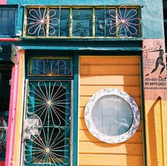 colorful SF living