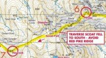 Ennerdale Horseshoe Race Map Maps, Racing, Auto Racing, Lace, Cards, Peta, Map