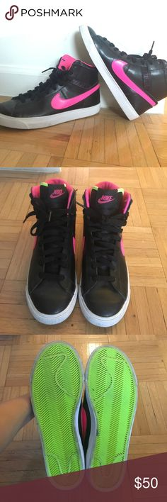 Nike high tops Size 6.5 Great pair of Nike high tops! Worn only a couple of times. Nike Shoes Sneakers