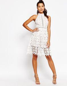 Image 4 ofLove Triangle High Neck Midi Dress