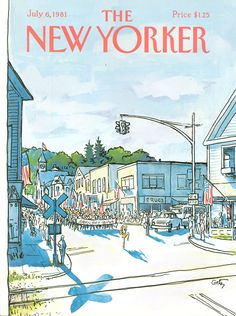 The New Yorker - Monday, July 6, 1981 - Issue # 2942 - Vol. 57 - N° 20 - Cover by : Arthur Getz