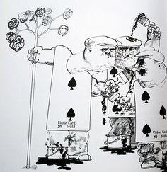 """Ральф Стедман и иллюстрации к """"Алисе в стране чудес"""" (1972)"""
