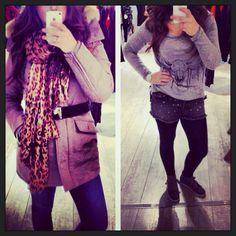 Outfit of the day: outside en inside fashion at las Lunas#www.laslunas.nl