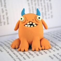 Modelling Clay Monsters (86 pics) - Picture
