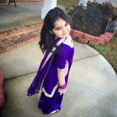 Punjabi suits for girls Baby Girl Party Dresses, Dresses Kids Girl, Little Dresses, Pretty Dresses, Baby Girl Fashion, Kids Fashion, Kids Suits, Girls Suit, Latest Salwar Suit Designs