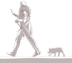 Following Cullen by FalseSecurity.deviantart.com on @DeviantArt (YESSSSSSSSSSSSSSSSSSS Cullen needs a cute little mabari this is so adorable watch me just die from the cuteness)