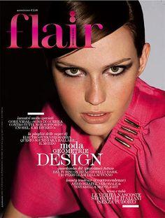 Pink Design & Freckles // Rachel Clark for Flair Magazine, August 2008.
