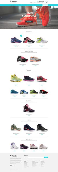 Template 55086 - Reebo Shoes  Responsive PrestaShop  Theme