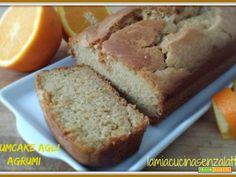 Plumcake soffice al profumo di agrumi senza lattosio senza uova  #ricette #food #recipes