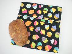 Microwave Baked Potatoe Bag Hot Pad Veggies Home Cooking Steamer Bread Warmer Housewarming Gift Hostess Gift Secret Santa Teacher Gift