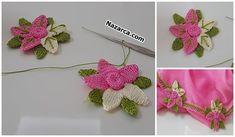 KENAR DANTEL ÖRNEĞİ SADE VE ŞIK ÖMÜR TÜKETEN MODELİ   Nazarca.com Hand Embroidery Designs, Crochet Projects, Crochet Necklace, Jewelry, Long Scarf, Tejidos, Jewlery, Jewerly, Schmuck