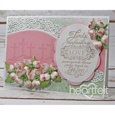 Heartfelt Creations - Flowering Dogwood Unfailing Love Project