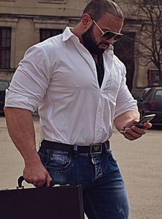 Big Guys, Big Men, Cute Guys, Hairy Men, Bearded Men, My Handsome Man, Beefy Men, Big Muscles, Muscular Men