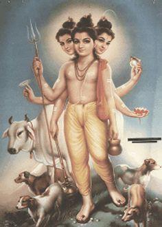 Lord Dattatreya Trinity Wallpaper-guru datt-guru-giranar-girnari-parikrama