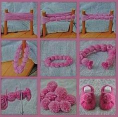 Kolay ponpon yapımı