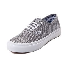 Go off the rails in style with the new Authentic Slim Skate Shoe from Vans! The Vans Authentic Slim Skate Shoe puts a fun twist on a classic style, featuring a slim-fitting, classic low-top design, with durable, mixed geo-printed canvas uppers.