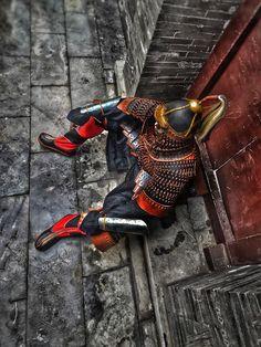 Mongol heavy cavalryman in lamellar armour. Armourer: 泰库尔曼