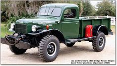 1946 Dodge Power Wagon - Damn near bought one of these last year.