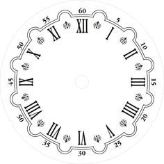 raccolta di carte per decoupage free quadranti per orologi da usare per le vostre decorazioni per uso personale, una volta scaricate e salvate sul vostro PC potete ingrandire e ridurre le immagini per adattarle alla vostra esigenza per sapere come