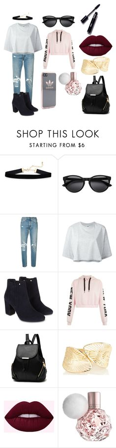 """Cute Casual Outfit"" by gottaexpressyourselftotheworld ❤ liked on Polyvore featuring Levi's, Puma, Monsoon and adidas"