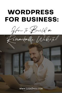 How do you build a website? This guide shows you how to use WordPress for business and build a business website that sells. Learn how to create a WordPress for business website with the best WordPress themes and WordPress plugins for business. #wordpressforbusiness #wordpresswebsite #wordpresstheme #createawebsite