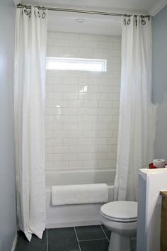 How to hang double shower curtains (for less!) 2019 How to use drapes on shower for double curtain look The post How to hang double shower curtains (for less!) 2019 appeared first on Shower Diy. Tall Shower Curtains, Extra Long Shower Curtain, Shower Curtain Rods, Shower Rod, Bathroom Shower Curtains, Elegant Shower Curtains, Diy Shower, Bath Shower, Diy Bathroom Decor