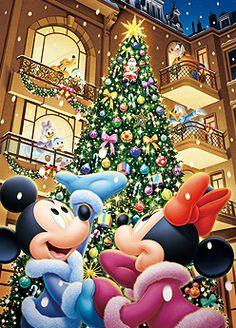 My 35,000th pin!!! Merry Christmas, Mickey, Minnie, Pluto, Goofy, Daisy, Donald, Huey, Dewey, and Louie!