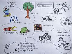 Printable summer reading maps.