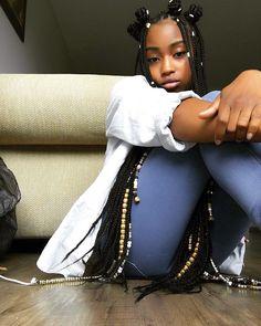 Fulani inspired braids.